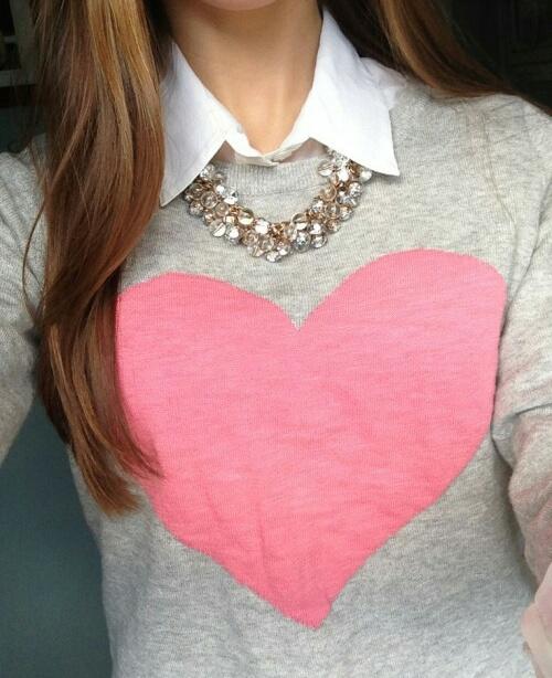 corazon camisa