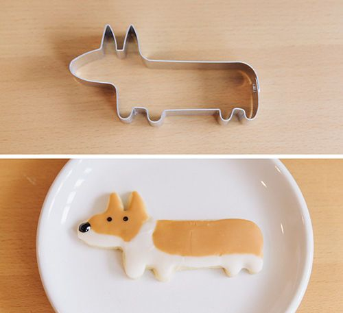 cortador galleta corgi