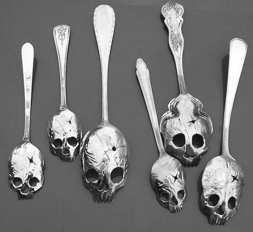 cucharas goticas