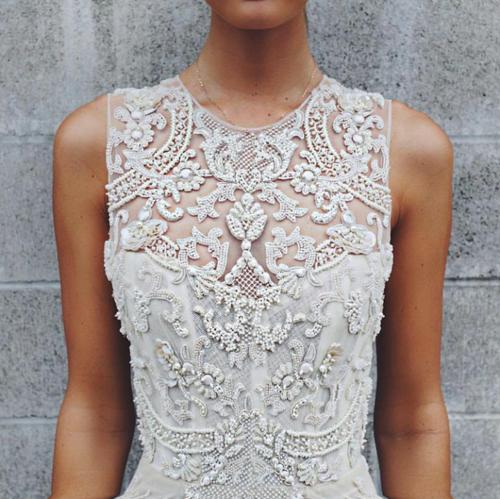 detalles lindos vestido novia