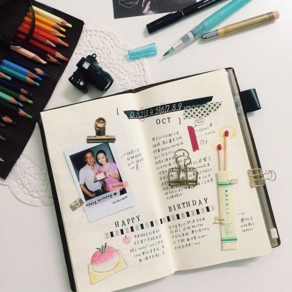 diario escrito