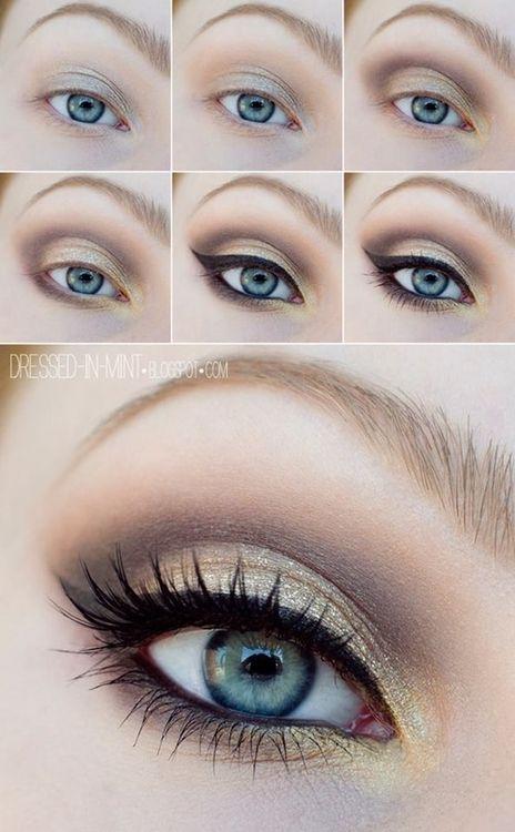 dorado ojos