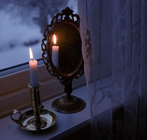 espejo gotico
