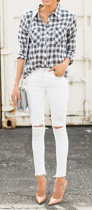 fajada camisa jeans