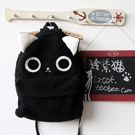 gatito cute mochila