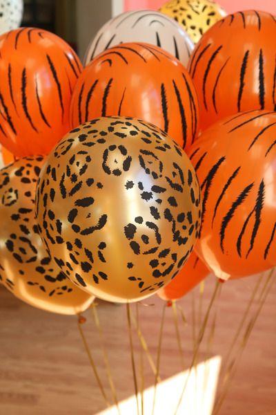 globos animal print