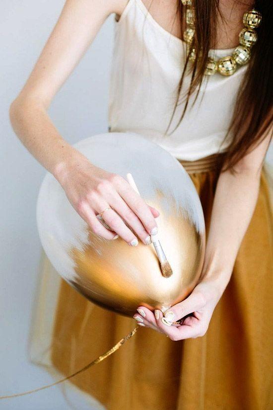 globos dorado