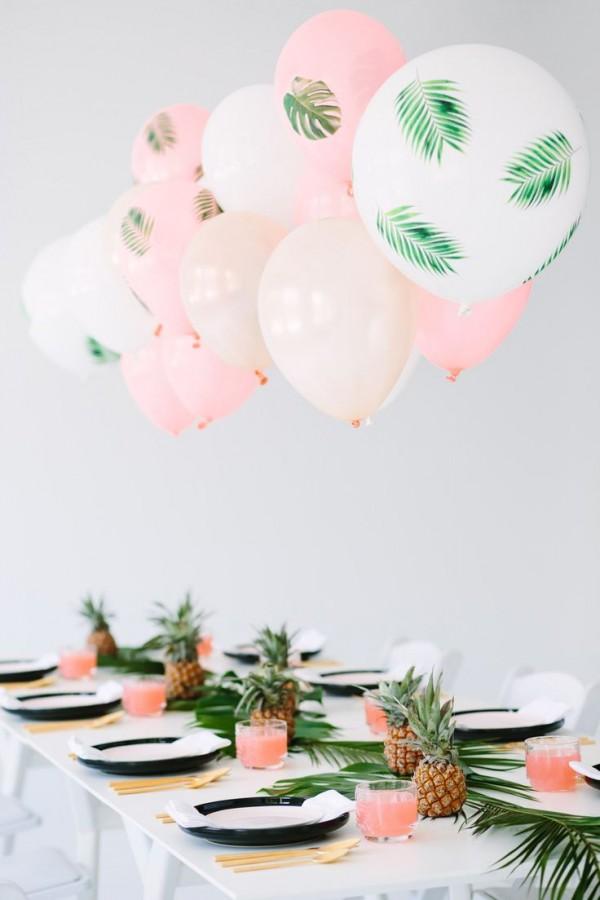 globos mesa