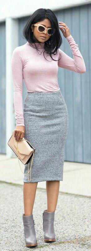 gris y rosa