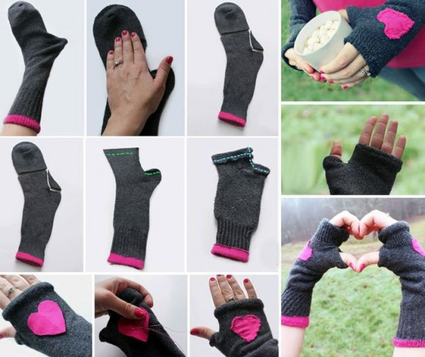 guantes diy