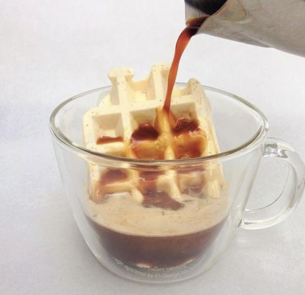 helado waffle