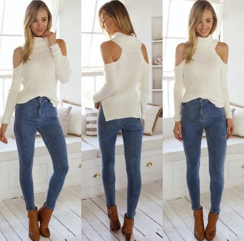 hombros blusa