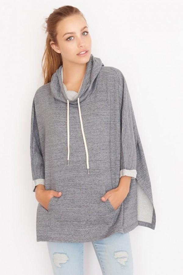 hoodie poncho