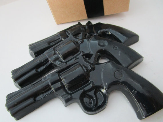 jabon pistola