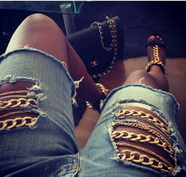Chicas Que Te Animaran A Romper Tus Jeans Por Completo