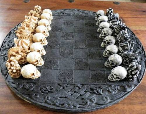 juego de mesa gotico