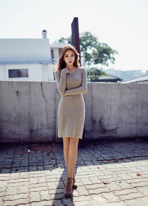 korea bonito vestido
