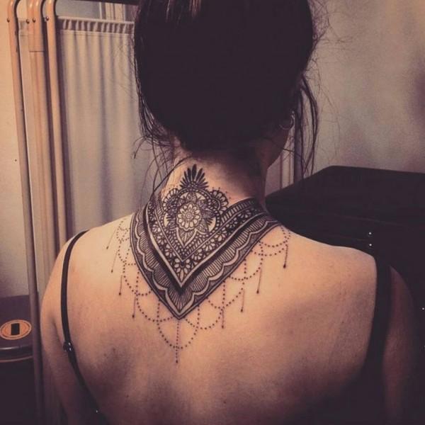 lace tattoo cute