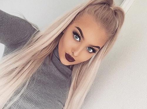 maquillaje cabello