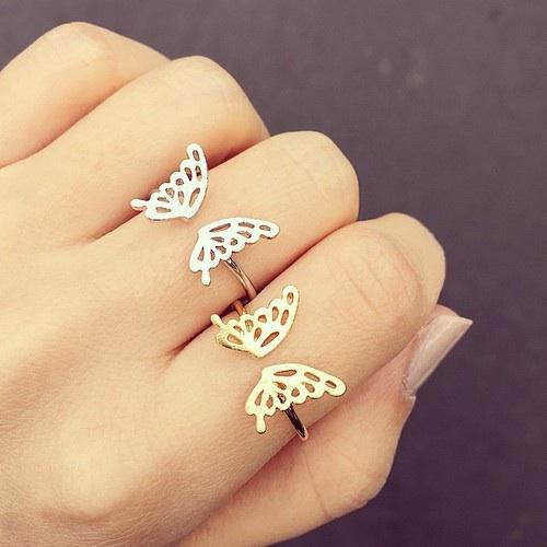 mariposas anillos