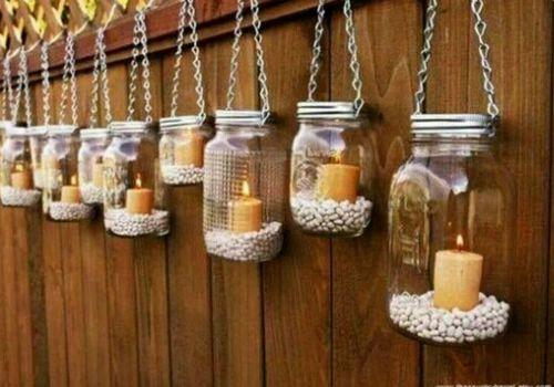 mason jar piedras