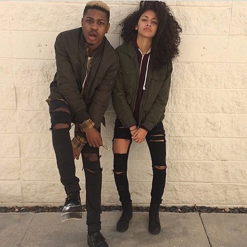 matching outfit