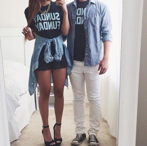 Busco novio que se atreva a vestirse asu00ed conmigo