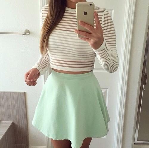menta falda