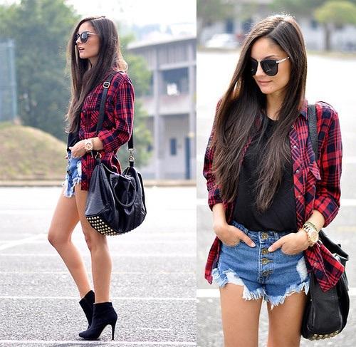 moda mujeres shorts