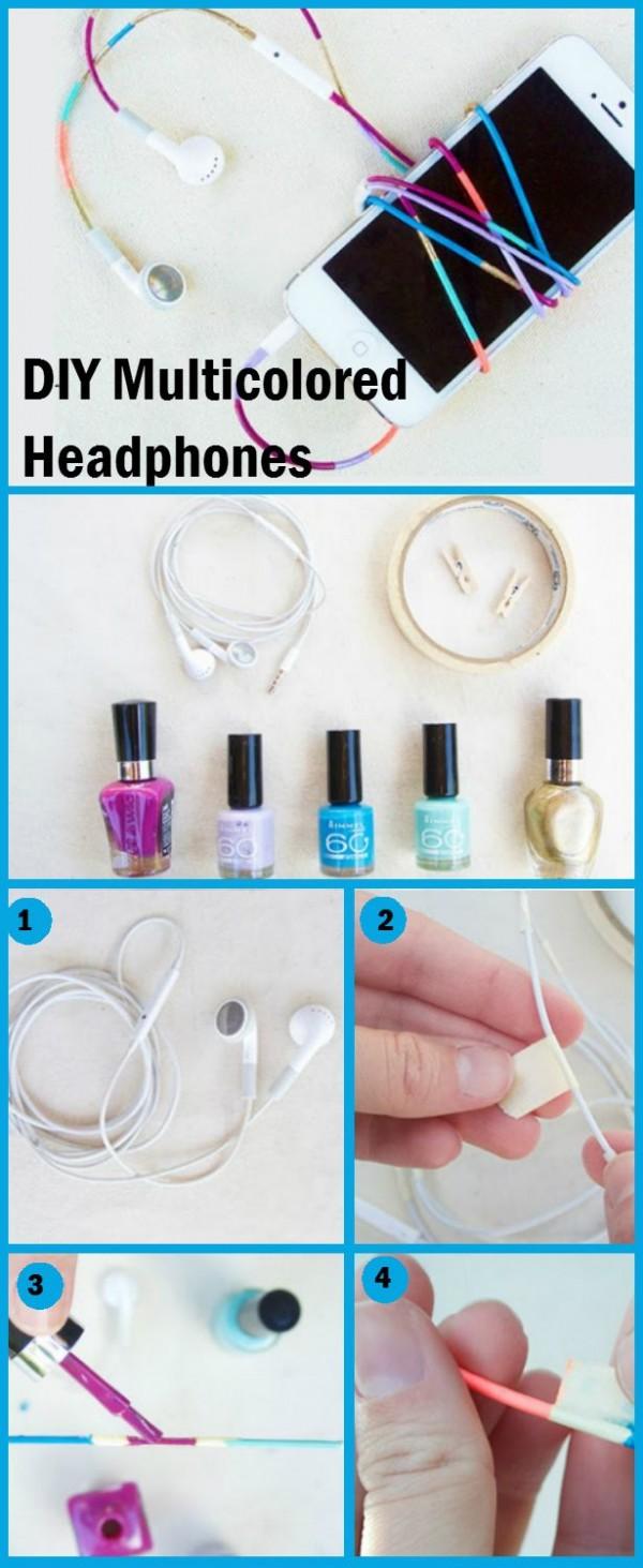 nailpolish headphones