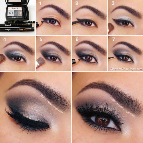 Maquillaje Perfecto Para Chicas Con Cabello Negro - Maquillaje-negro