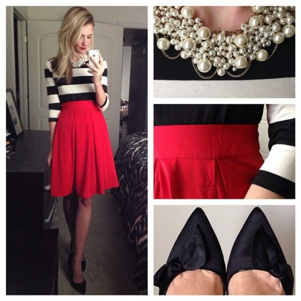 1b3e90d473 Ideas para vestirte de rojo esta navidad sin parecerte a Santa