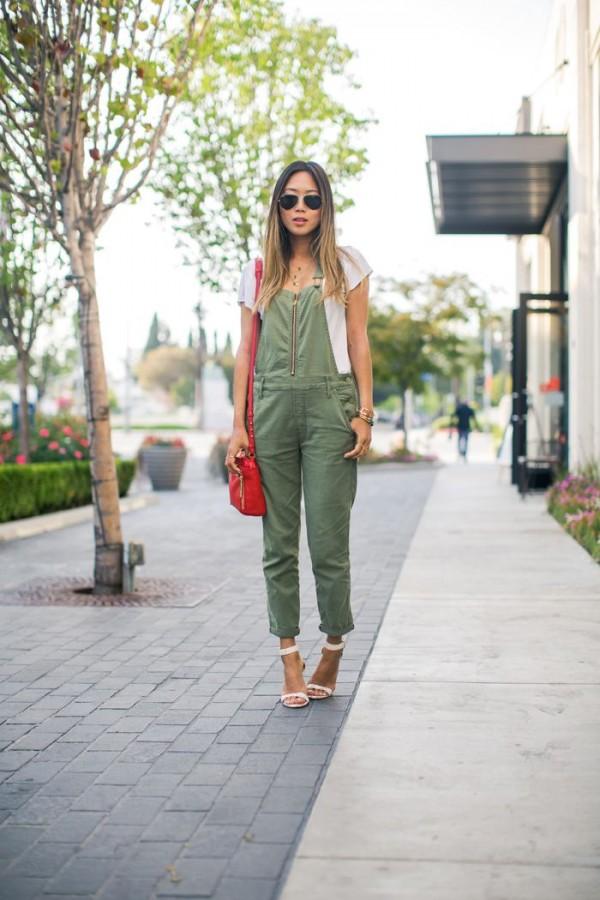 overol verde
