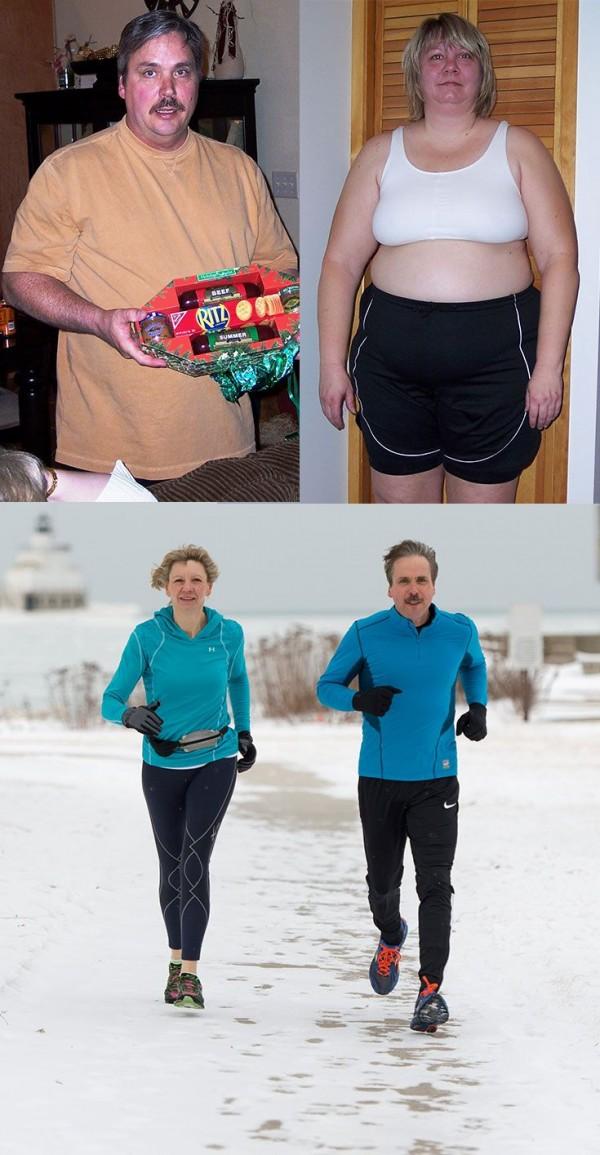 parejas ex obesas