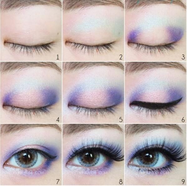 pastel goth eyeshadows