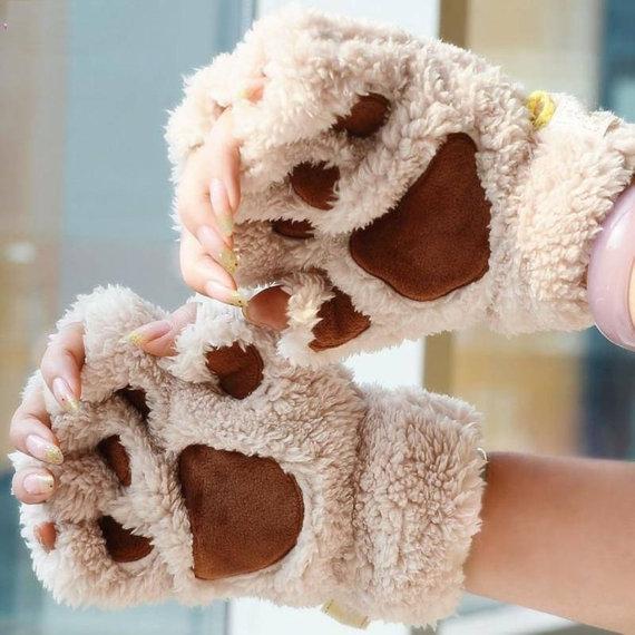 paw gloves