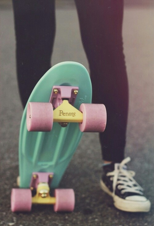 penny board hipster