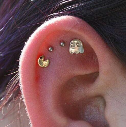 piercings orejas