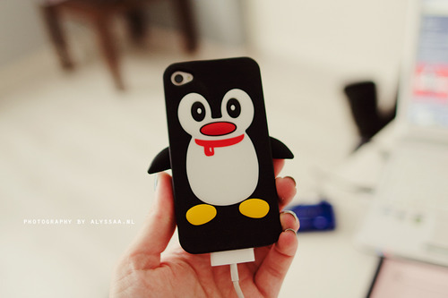 pinguino funda