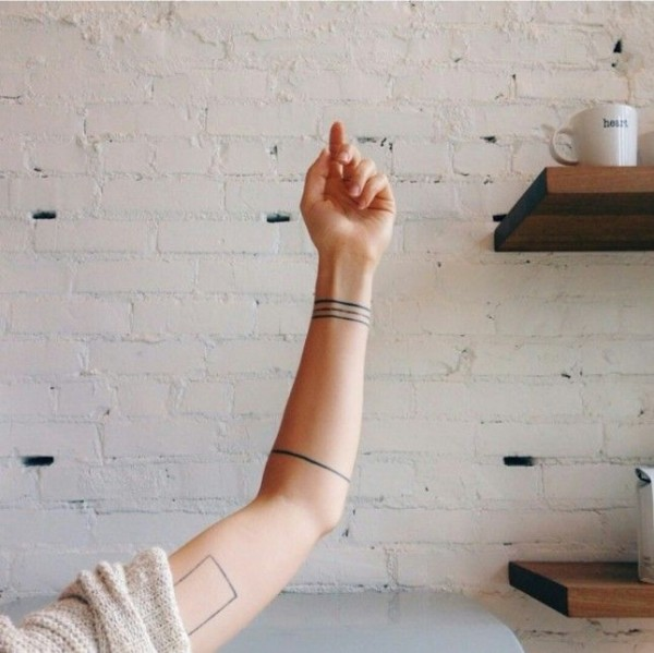 Hermosos Tatuajes Que Una Simple Linea Podra Darte
