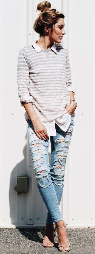 rasgados jeans