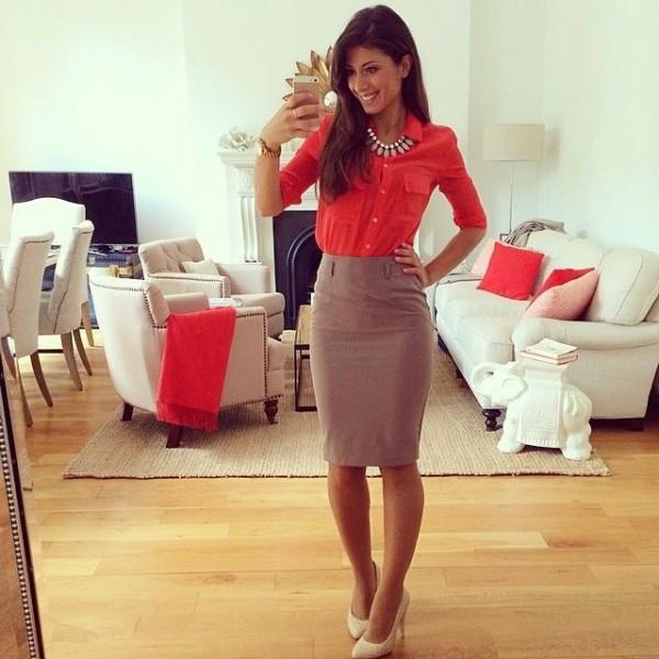 Looks trendy para chicas que trabajan en oficina for Oficinas chicas