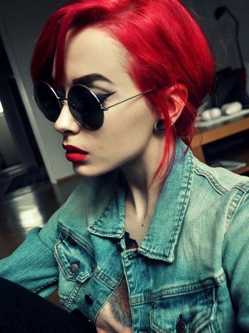 rojo cabelllo