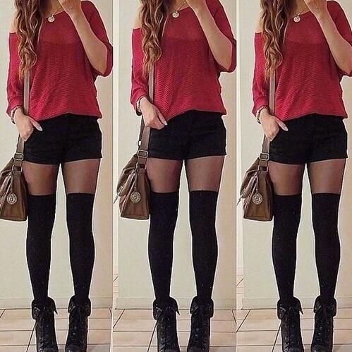rojo shorts