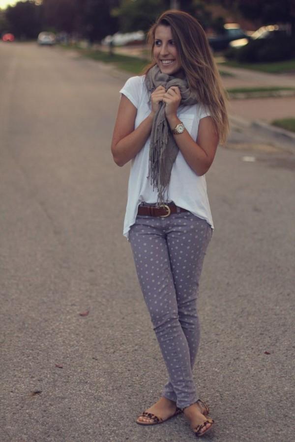 ropa con puntitos