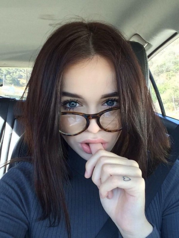 selfie sexy lentes