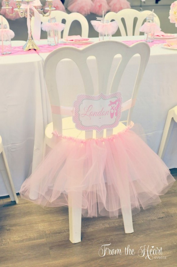 Ideas de decoraci n para tus xv a os si amas el ballet for Sillas para quinceaneras