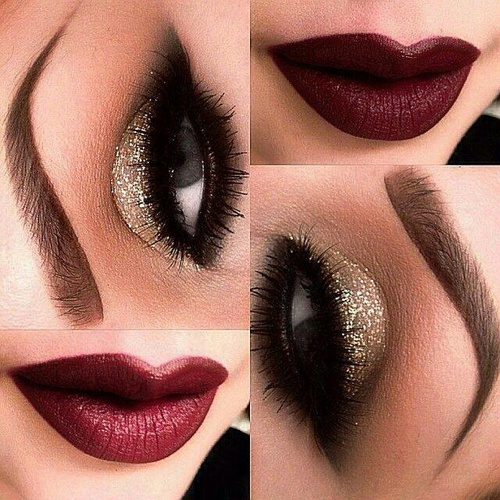 13 Glamorosos diseos para maquillar tus ojos de dorado