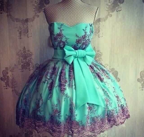 straples vestido azul