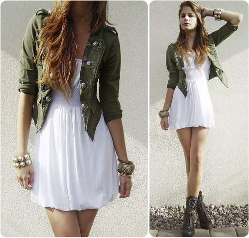 Chicas bien vestidas ala moda